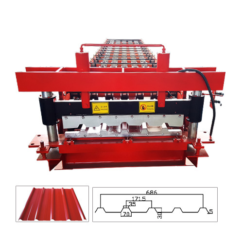 686 Sheet Roll Forming Machine